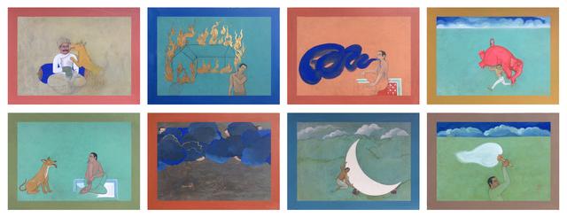 , 'Miniature Drawings,' 2014, Gallery Espace