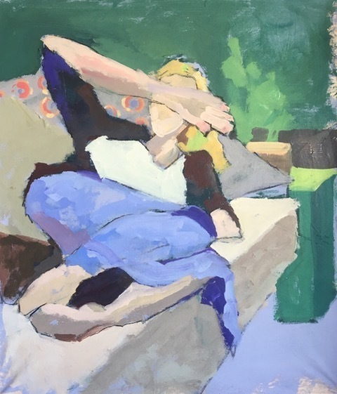 , 'Relaxing,' 2018, Solace Studio + Gallery & Contour 19