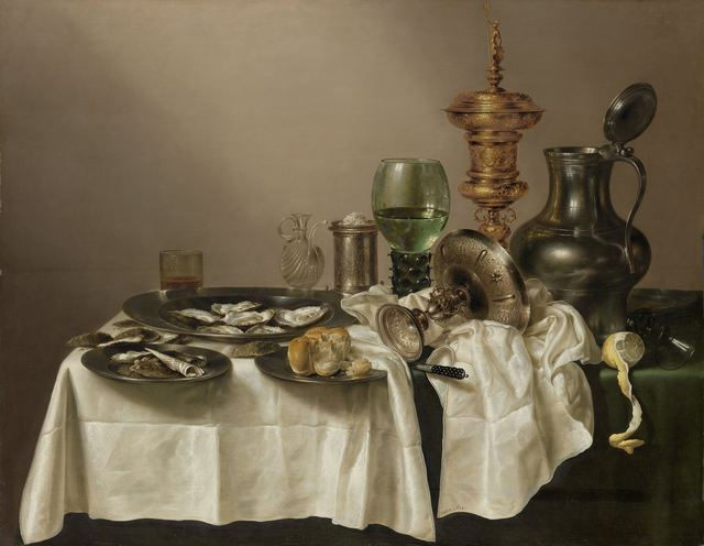 Willem Claesz Heda, 'Still Life with a Gilt Cup', 1635, Rijksmuseum