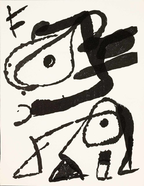 Joan Miró, 'Untitled (D.1296, Miro Graveur Volume IV)', Martin Lawrence Galleries