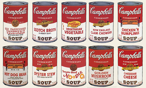 Andy Warhol, 'Campbell´s Soup II (Portfolio of 10)', 1969, Print, Screenprint on paper, Collectors Contemporary