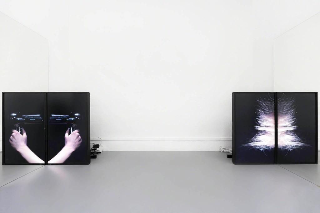 Kilian Kretschmer: Whirr - Videoinstallation, 2016