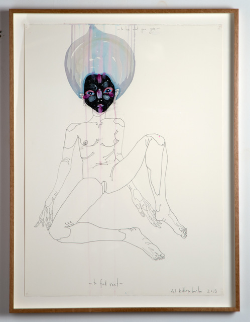 Del Kathryn Barton, 'to love what you give to find rest', 2013, Roslyn Oxley9 Gallery