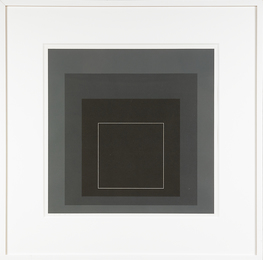 WLS VIII, from White Line Squares (Series 1)