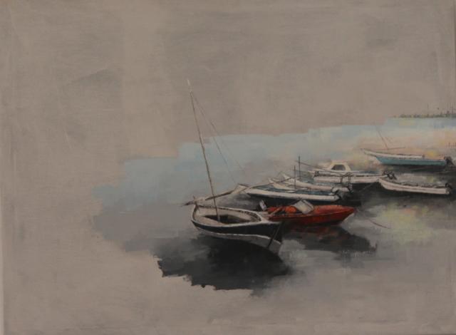 Ismael Kateregga, 'Boats', 2017, AKKA Project