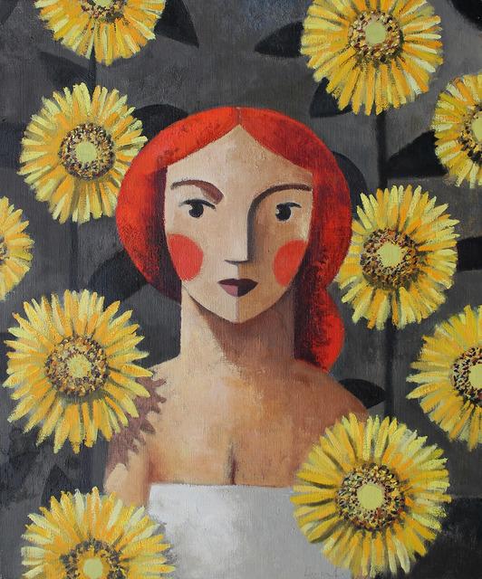 , 'Sunflowers,' , GALERIA JORDI BARNADAS