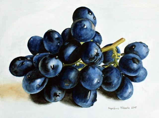 Ingeborg Haeberle, 'Wine Grapes', 2015, the gallery STEINER