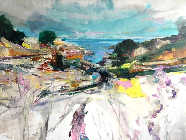 , 'La Crique,' 2017, Dolby Chadwick Gallery