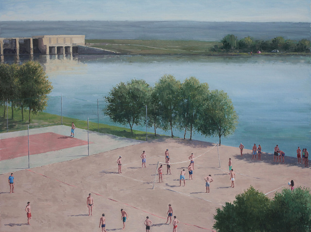 , 'Haze on the Dam,' 2013, Nicodim Gallery