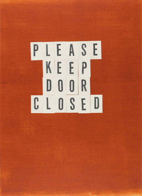 , 'Please Keep Door Closed,' 2017, Highpoint Editions
