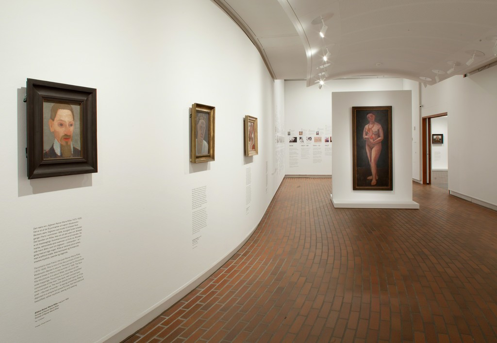 "Installation shot, ""Paula Modersohn-Becker"" at Louisiana Museum of Modern Art, 2015-2015. Image courtesy of Louisiana Museum of Modern Art."