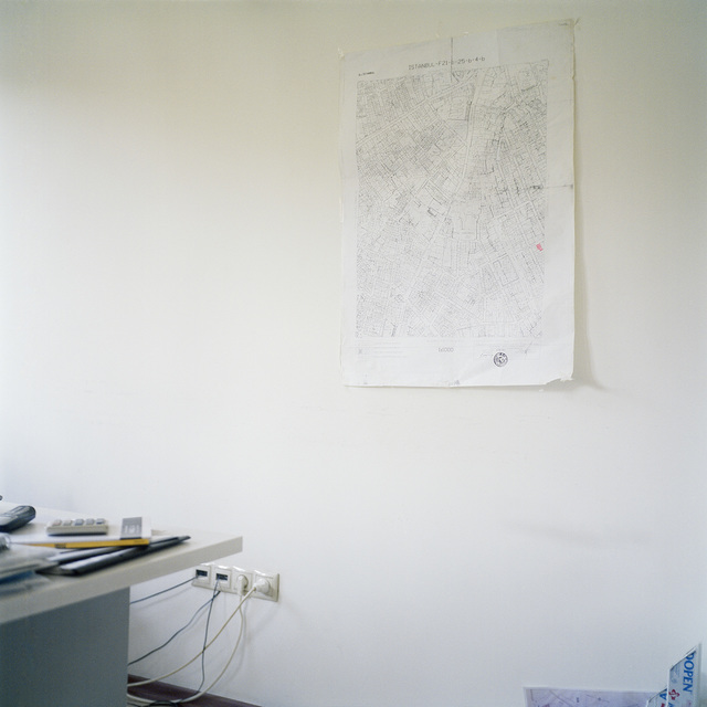 , 'Corner With a Map from series Being Present,' 2012, Temnikova & Kasela
