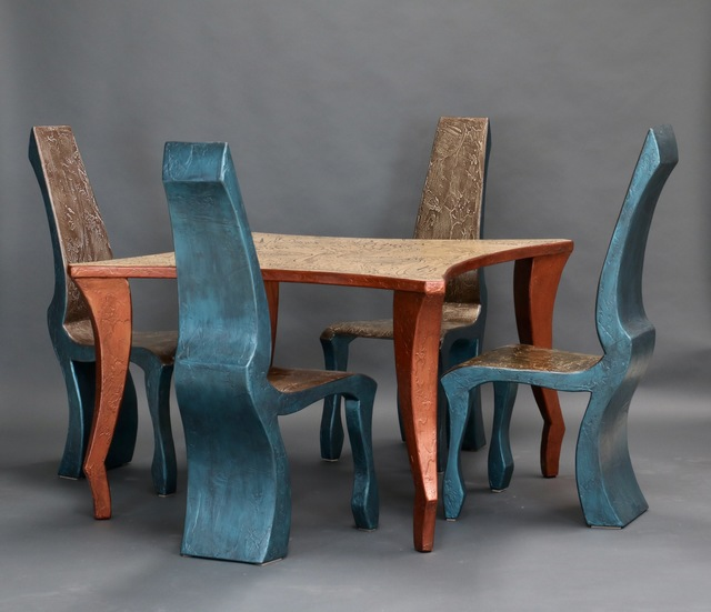 , 'As I Imagine Four Top Dining Set with Four Chairs,' 2018, GVG Contemporary