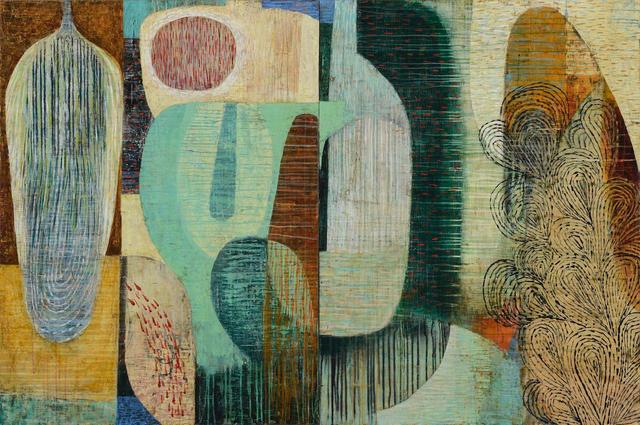 Claire B Cotts, 'Luna Moth (Diptych)', 2019, Nüart Gallery