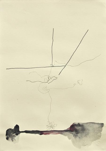, 'Os desenhos da praia #8,' 2011, Galeria Miguel Nabinho