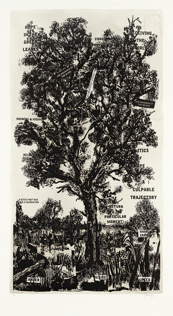 William Kentridge, 'Hope in the Green Leaves', 2013, Strauss & Co