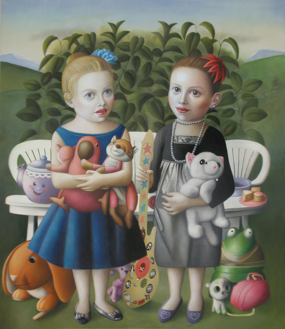 , 'Two Girls with Toys,' , Front Room Gallery
