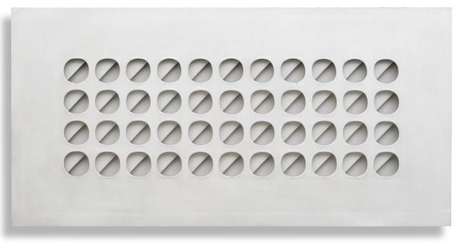 , 'Intersuperficie curva bianca,' 1966, Robilant + Voena