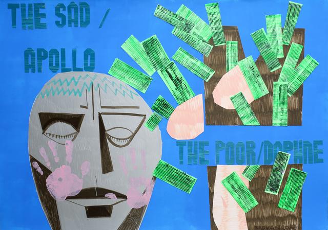 , 'The Sad Apollo/ The Poor Daphne,' 2017, Anaid Art
