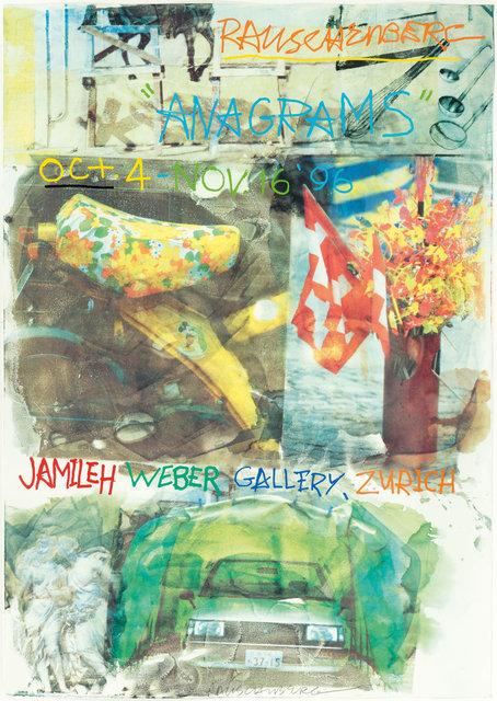 Robert Rauschenberg, 'Anagrams', 1996, Koller Auctions