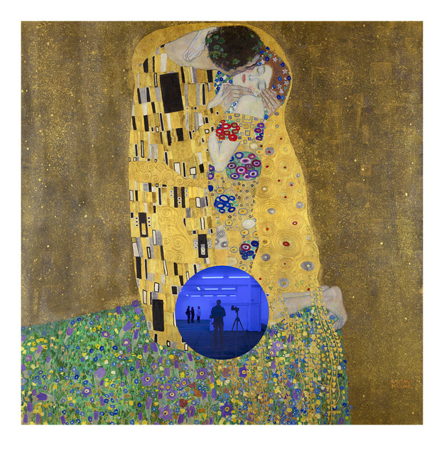, 'Gazing Ball (Klimt Kiss),' 2019, Two Palms
