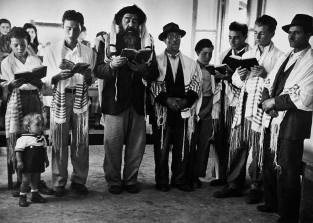 "David ""CHIM"" Seymour, 'Men praying, Israel', ca. 1951, Vision Neil Folberg Gallery"
