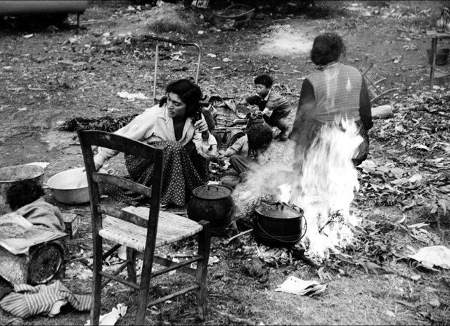 , 'Campement gitan Rocheville,' 1958, Bernheimer Fine Art