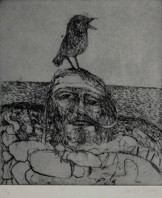 John Bellany R.A., 'Raised beach', ca. 1988, Robert Eagle Fine Art