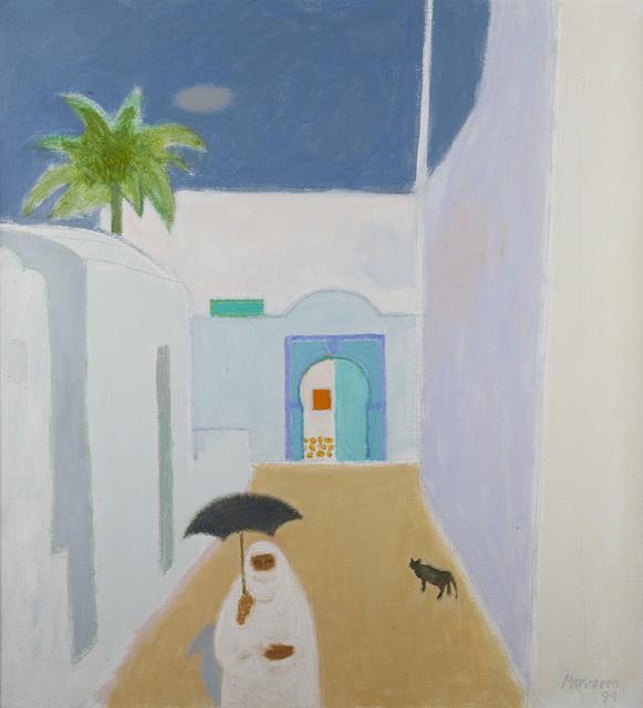 , 'Street in Hammamet,' 1994, The Scottish Gallery