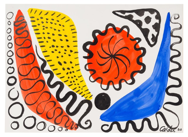 , 'Boomerangs and Calderunes,' 1966, Opera Gallery