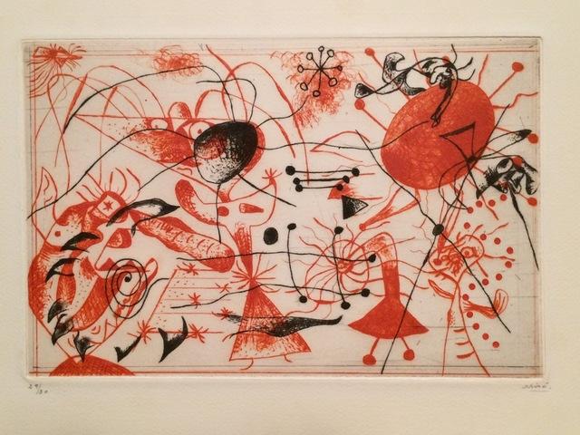 , 'Série noire et rouge:  one plate,' 1938, Isselbacher Gallery