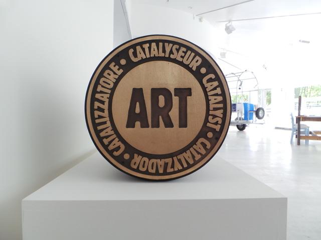 , 'Manifesto Stamp – Catalyst Art,' 1984, Valérie Bach