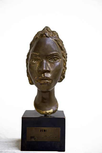 , 'Bust of Remi,' 1977, TAFETA