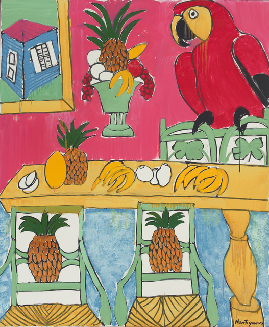 Grace Hartigan, 'St. Croix Interior', 2003, Painting, Oil on canvas, ACA Galleries
