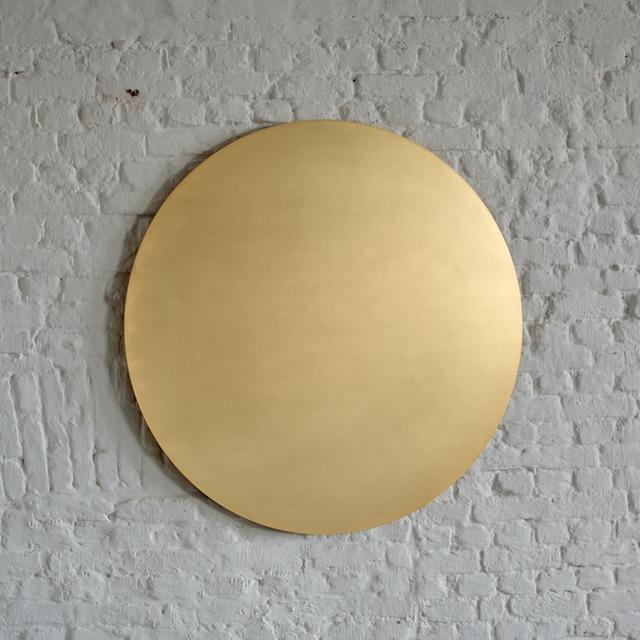 , 'Untitled (Golden Circle),' 2015, Axel Vervoordt Gallery
