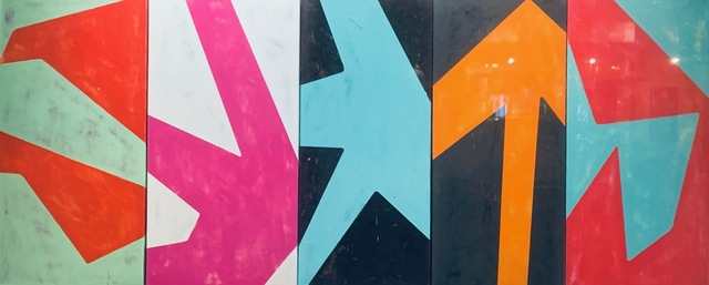 "Bradley Narduzzi, '""Geometric Abstractions"" ', 2019, Julie Zener Gallery"
