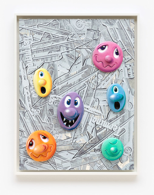Kenny Scharf, 'Face Facts #17', 2014, Pace Prints