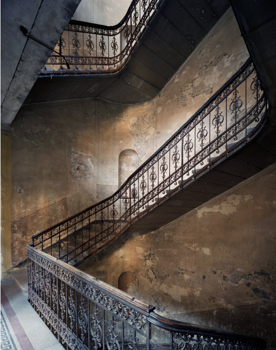 Marchand & Meffre Budapest Staircases Szentkiralyi Ucta 10, 2015, 75 x 60 cm, edition of 12, Chromogenic Print mounted on dibond and framed