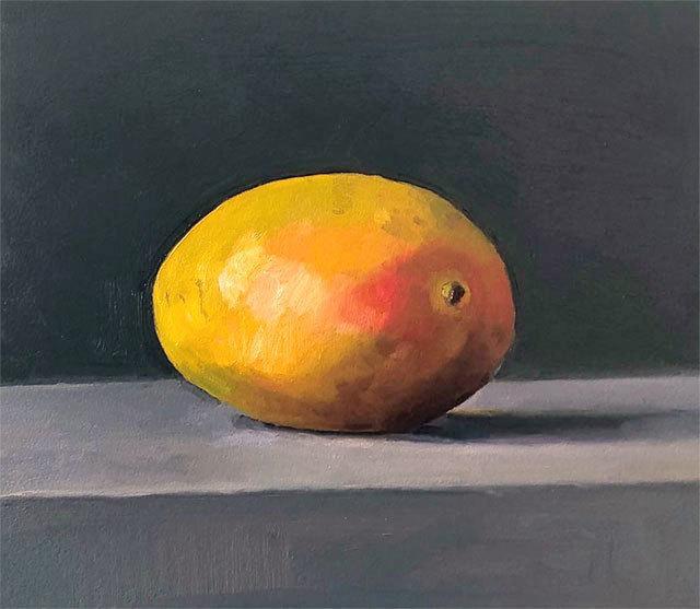 Dan McCleary, 'Mango', 1.23.20, Painting, Oil on canvas, Craig Krull Gallery