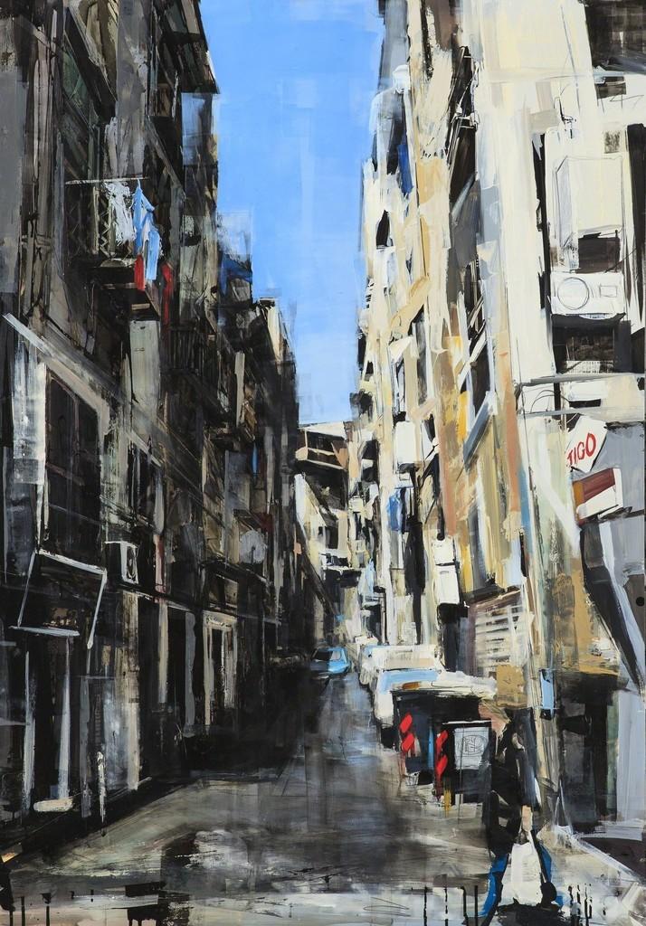 Sean Flood, 'Street in Naples,' 2012, Childs Gallery