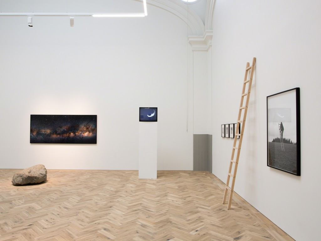 Installation view of Jacob's Ladder
