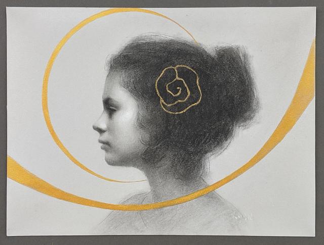 Susan Lyon, 'Golden Rose', 2019, Maxwell Alexander Gallery
