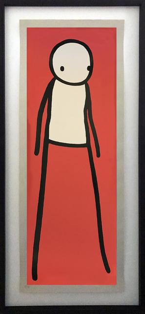 , 'Walk (red),' 2012, Galerie Kronsbein