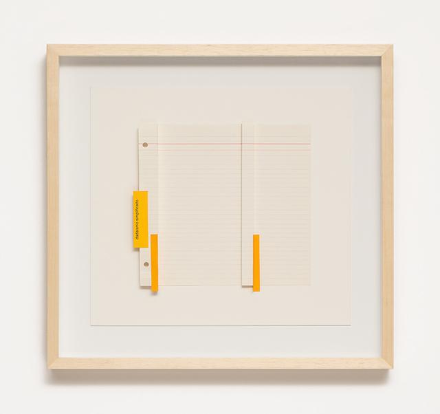 , 'Dadaísmo simplificado,' 2017, Galeria Raquel Arnaud