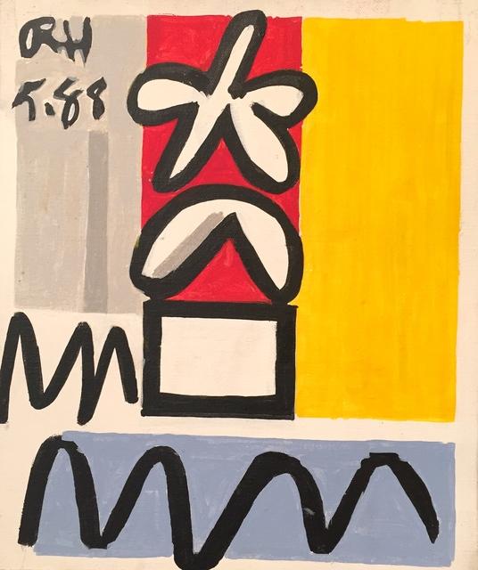 Raymond Hendler, 'Untitled (5.88)', 1988, Berry Campbell Gallery