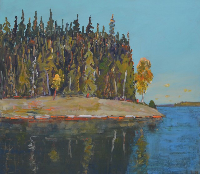 , 'Late Afternoon, La Ronge,' 2016-2017, Wallace Galleries