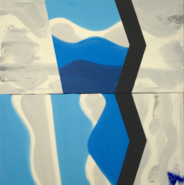 , 'Blue Remembered Hill #4,' 2000, David Richard Gallery