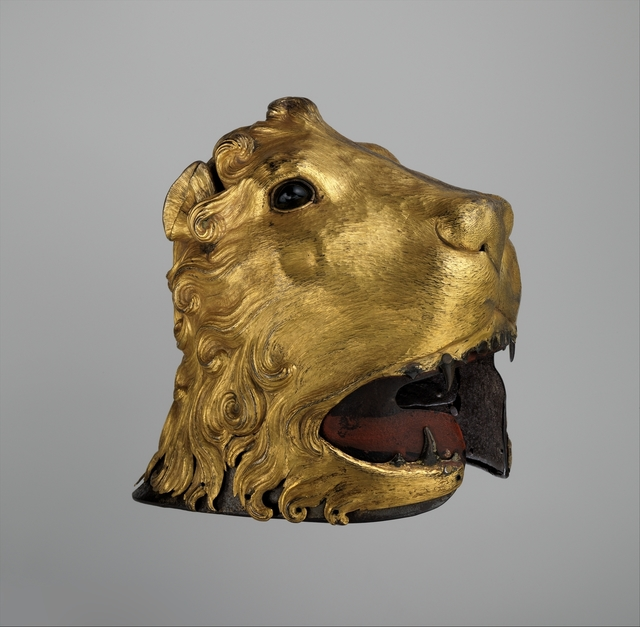 Unknown Italian, 'Sallet in the Shape of a Lion's Head', ca. 1475–1480, The Metropolitan Museum of Art