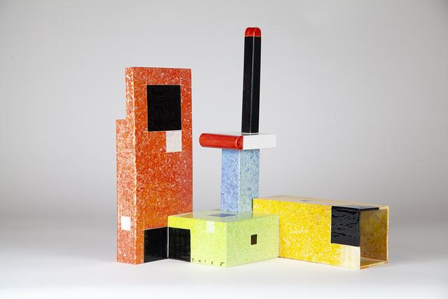 Peter Shire, 'Rock House Bauhaus Kenbishi', 2018, Kayne Griffin Corcoran