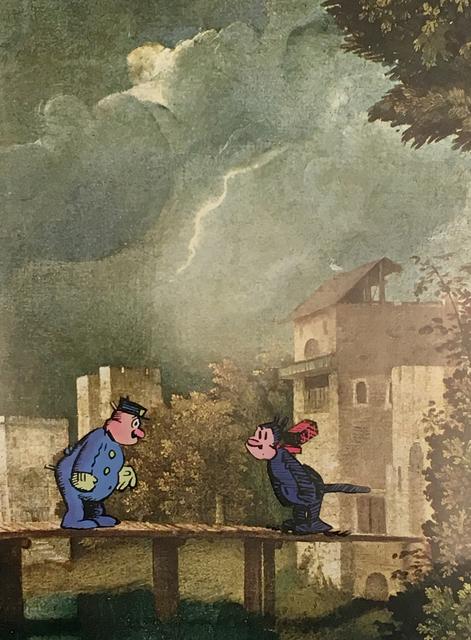 , 'Storm at Castelfranco,' 2016, Tibor de Nagy